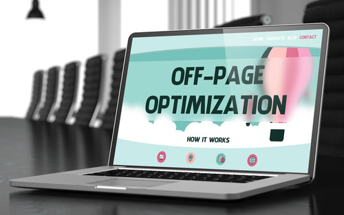 image of off-site SEO optimization